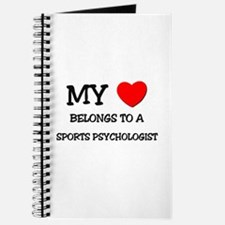 My Heart Belongs To A SPORTS PSYCHOLOGIST Journal