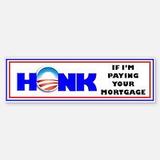 Anti-Obama, Honk Bumper Bumper Bumper Sticker