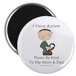 Autism Boy- Be Kind Magnet