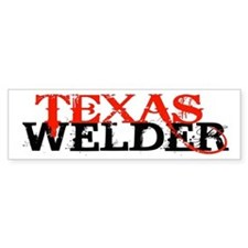 Texas Welder Bumper Car Sticker