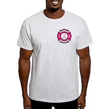 Fire Logo PINK2 T-Shirt