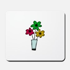 Just The Flowers Mousepad