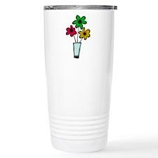 Just The Flowers Thermos Mug