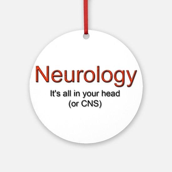 Neurology Ornament (Round)