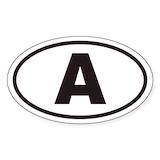 Austria stickers Bumper Stickers