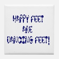 Happy Feet DANCE! Tile Coaster