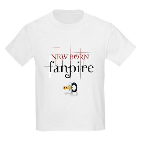 New Born Fanpire Kids Light T-Shirt