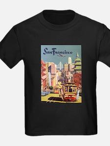 Vintage Travel Poster San Francisco T
