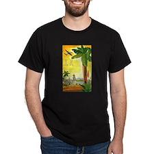 Vintage Travel Poster Los Angeles T-Shirt