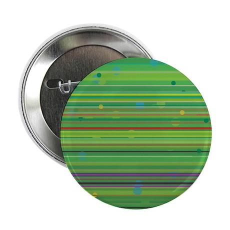 Green Stripey Dotty Button