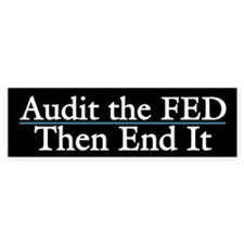 Audit the Fed Then End It