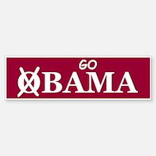 Go Alabama Bumper Bumper Bumper Sticker