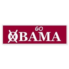 Go Alabama Bumper Bumper Sticker