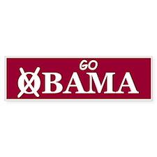 Go Alabama Bumper Bumper Sticker