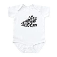 Cute Monterey california Infant Bodysuit
