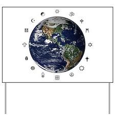 World Religions Yard Sign