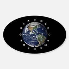 World Religions Oval Decal
