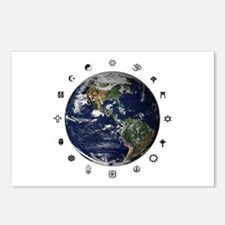 World Religions Postcards (Package of 8)