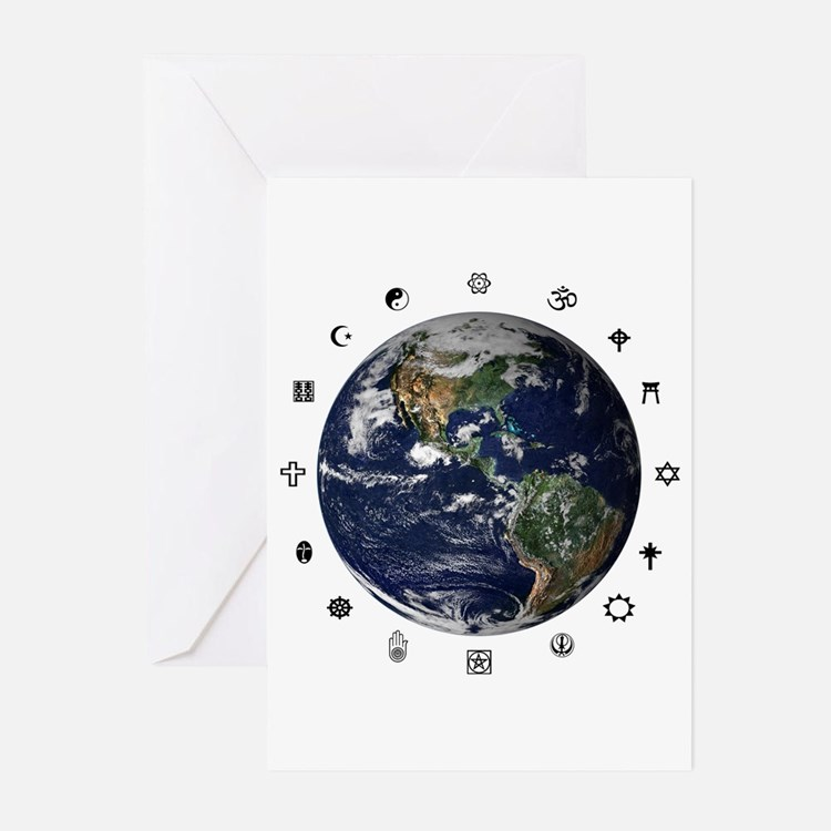 World Religions Greeting Cards (Pk of 10)