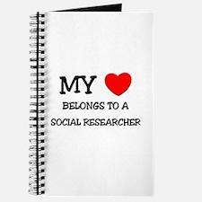 My Heart Belongs To A SOCIAL RESEARCHER Journal