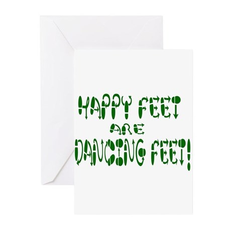 Happy Feet DANCE! Greeting Cards (Pk of 10)
