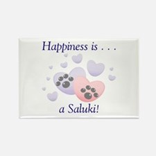Happiness is...a Saluki Rectangle Magnet (10 pack)