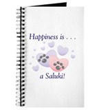 Dog saluki Journals & Spiral Notebooks