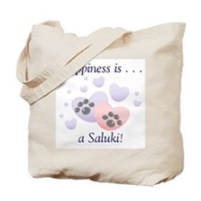 Happiness is...a Saluki Tote Bag
