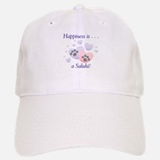 Happiness is...a Saluki Baseball Baseball Cap