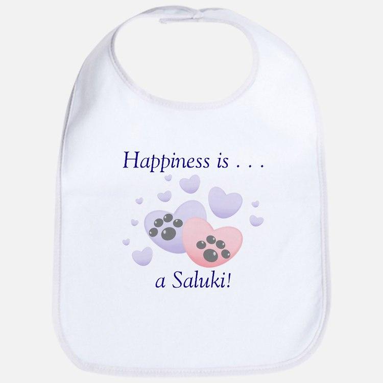 Happiness is...a Saluki Bib