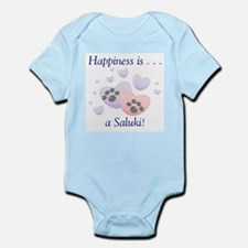 Happiness is...a Saluki Infant Creeper