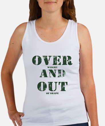 Over & Out Women's Tank Top