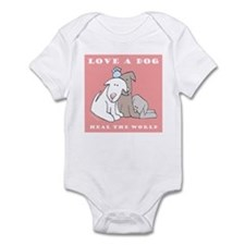 Love Rescue Puppies Infant Creeper