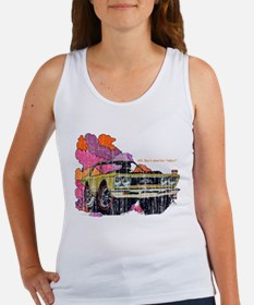 Plymouth GTX Illustration Women's Tank Top