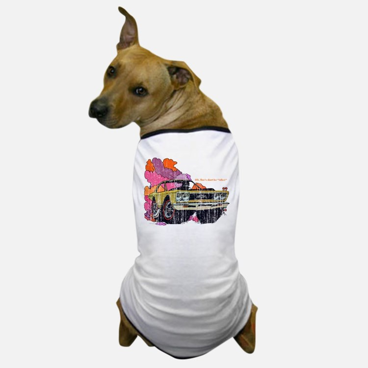 Plymouth GTX Illustration Dog T-Shirt
