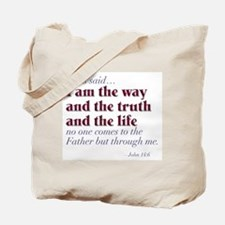 Way Truth Life Tote Bag