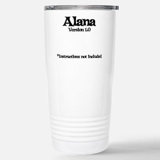 Alana Version 1.0 Stainless Steel Travel Mug