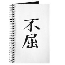 Indomitable - Kanji Symbol Journal