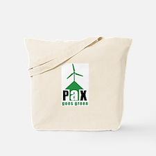 PAX goes green Tote Bag