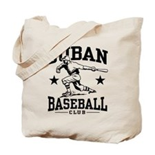 Cuban Baseball Tote Bag