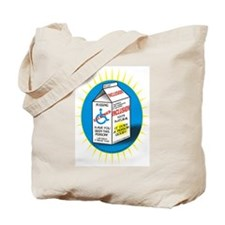 Missing Person / Inclusion Carton Tote Bag