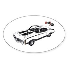 Hurst/Olds Oval Decal