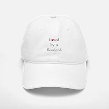 Loved by a Keeshond Baseball Baseball Cap