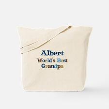 Albert - Best Grandpa Tote Bag