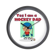 Hockey Dad Wall Clock