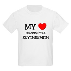 My Heart Belongs To A SCYTHESMITH T-Shirt