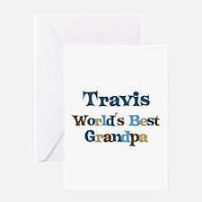 Travis - Best Grandpa Greeting Card