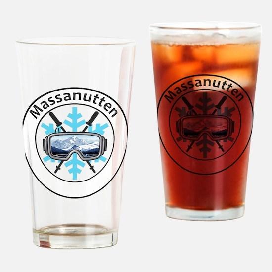 Cute Massanutten Drinking Glass