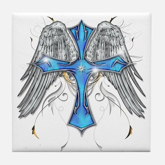 Flying Cross Tile Coaster