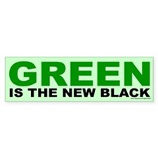 Green Is The New Black (sticker)
